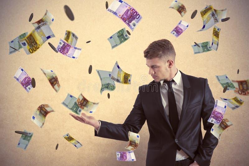 Earn money stock image
