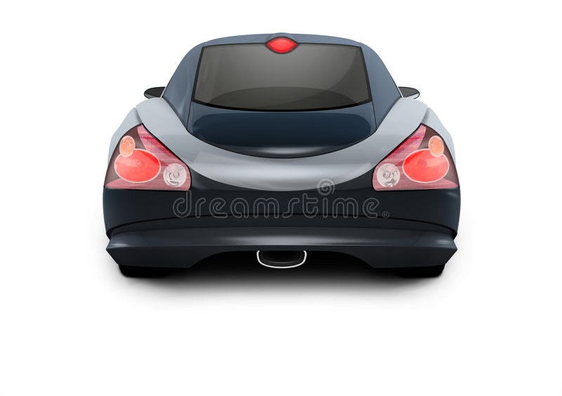 Download Concept Car 3D Design stock illustration. Illustration of busy - 472331