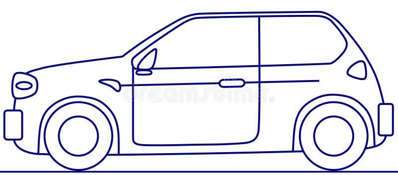 Download Concept car stock illustration. Image of line, economy - 7095931
