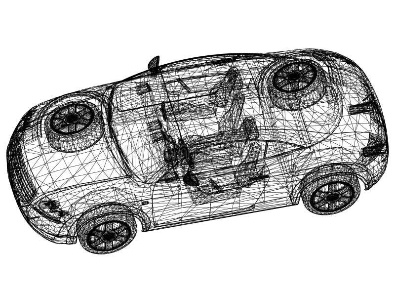 Concept car blueprint 3d perspective stock illustration download concept car blueprint 3d perspective stock illustration illustration of idea outline malvernweather Choice Image
