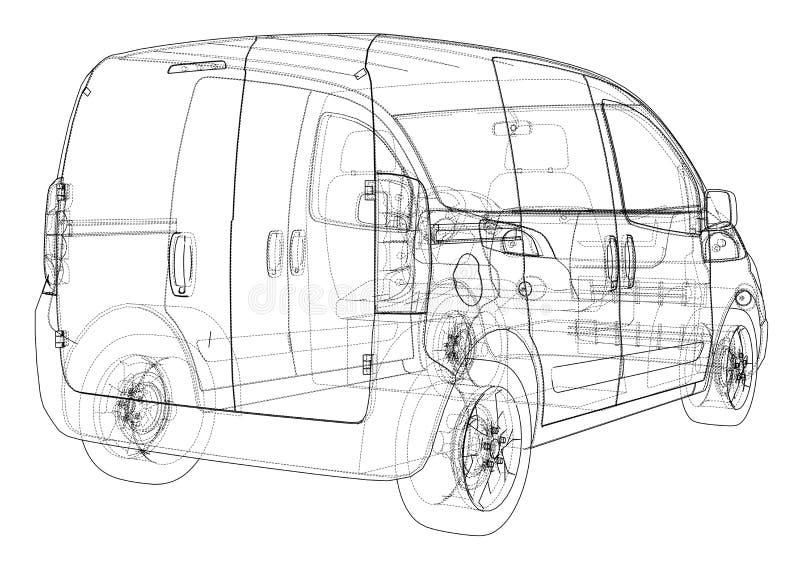 Concept car blueprint stock illustration illustration of digital download concept car blueprint stock illustration illustration of digital 113634405 malvernweather Images