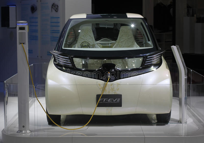 Download Concept Car Electrique Toyota FT-EV2 Editorial Stock Image - Image: 16840489