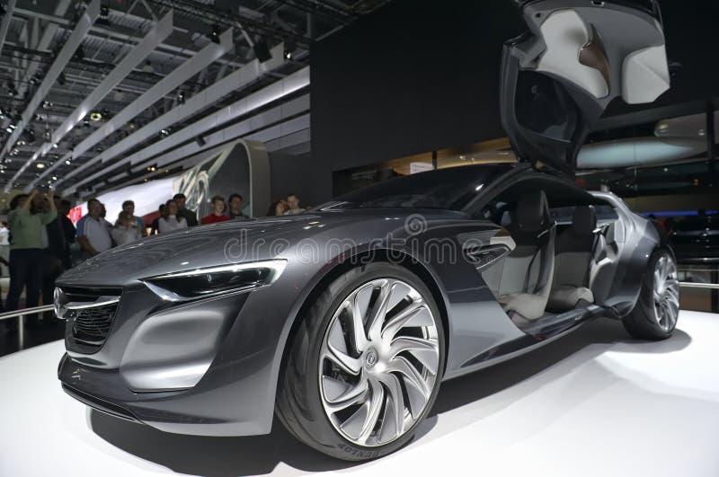 Concept car Opel Monza stock photo