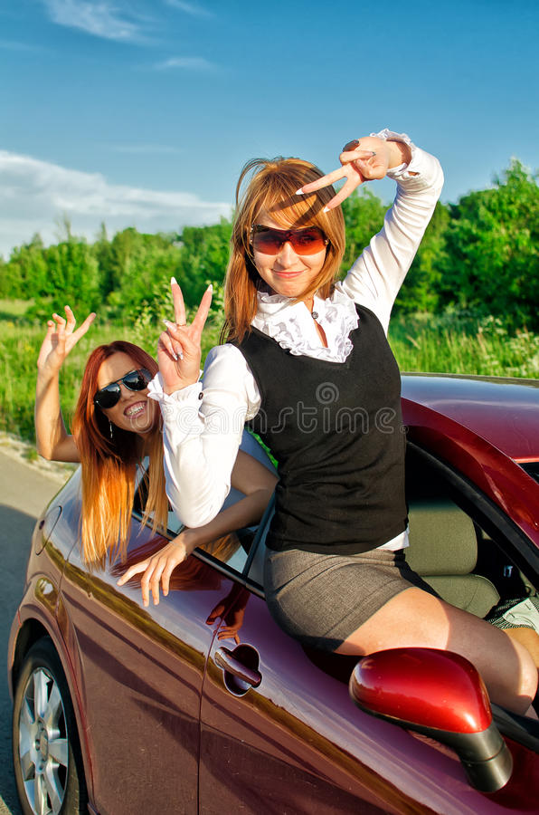 Download Concept Of Carefree Roadtrip Stock Image - Image: 25407123