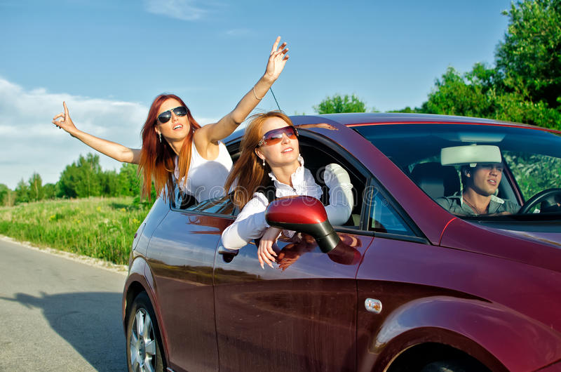 Download Concept Of Carefree Roadtrip Stock Image - Image: 25407207