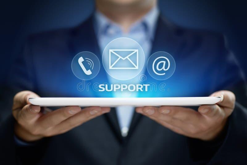Concept central de technologie d'affaires d'Internet de service client de support technique photos stock