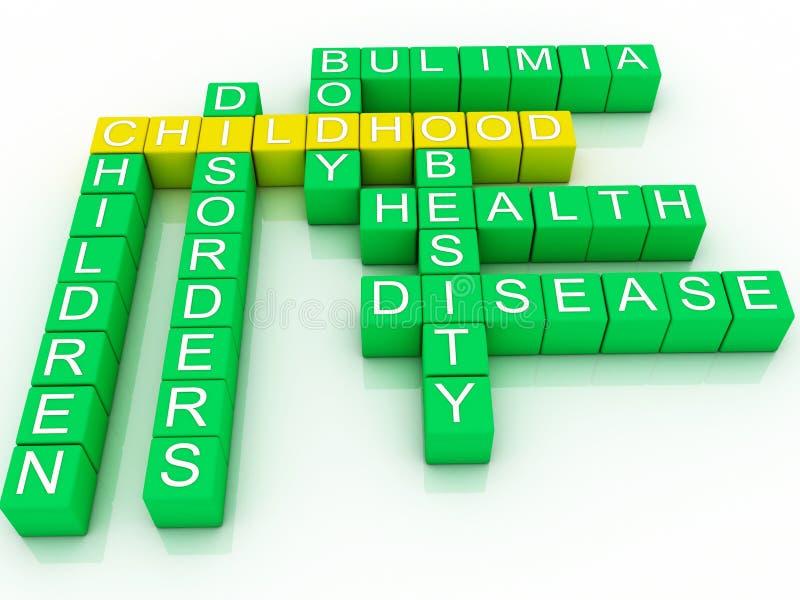 Download Concept Of Childhood Health Stock Illustration - Image: 32389620
