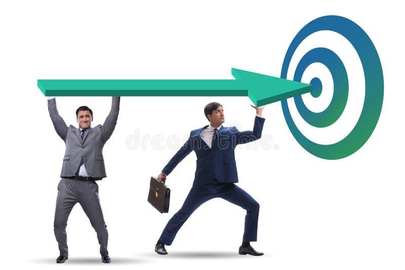 Concept collectieve strategische planning royalty-vrije stock foto's