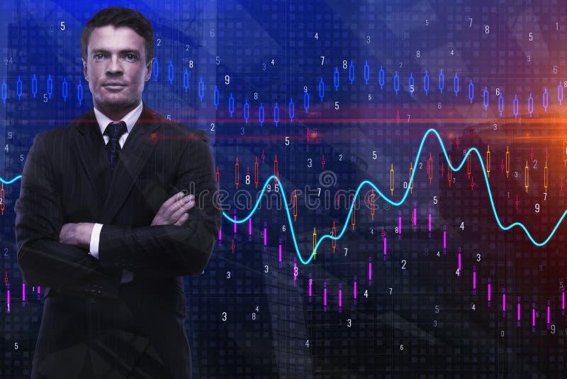 Concept commercial et de finances photos stock