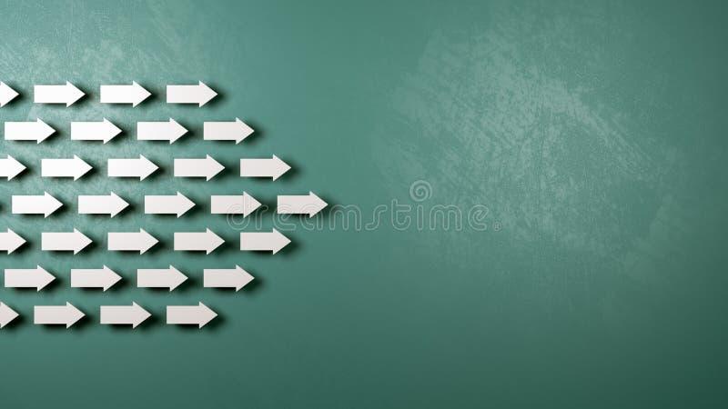 Concept commun de direction illustration de vecteur