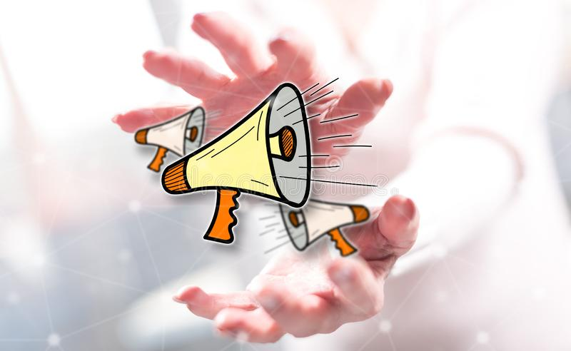 Concept of communication stock images