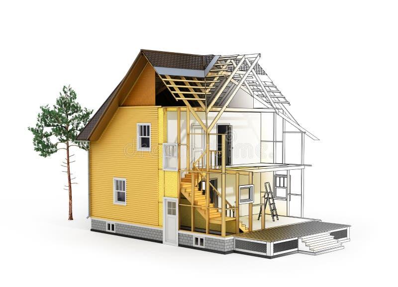 Download Concept Of Construction And Architect Design. Stock Illustration    Illustration Of Line, Design
