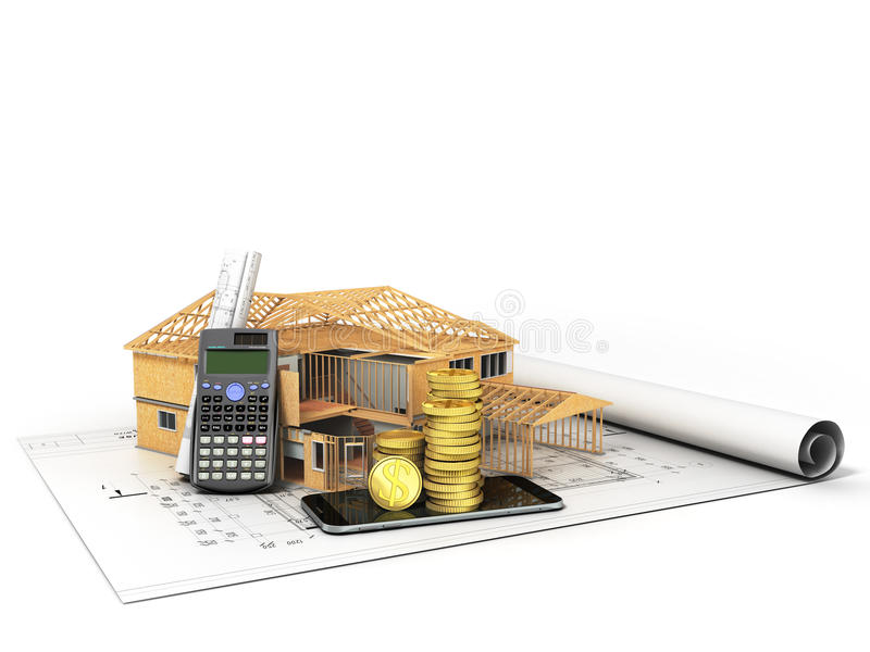 Concept of construction calculations home construction for How contractors make money