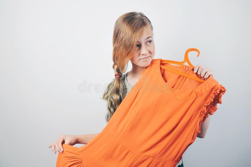 Concept convenable de robe photographie stock