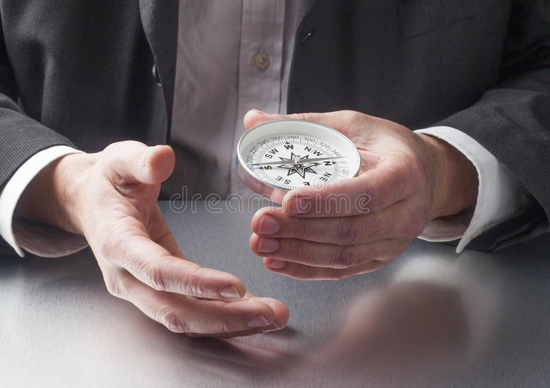 Concept of corporate vision stock images