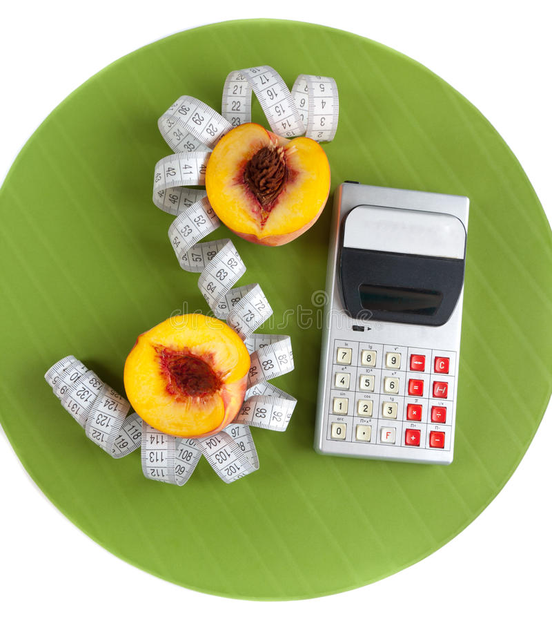 Download Concept Of Counting Calories Stock Image - Image: 16441361
