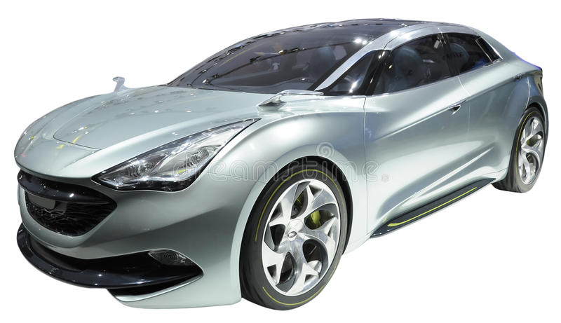 Download Concept coupe isolated stock photo. Image of grey, future - 18837416