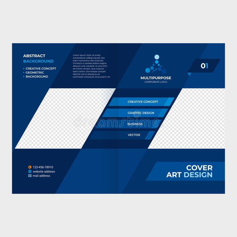 Concept cover booklet, Katalog lizenzfreie stockfotografie