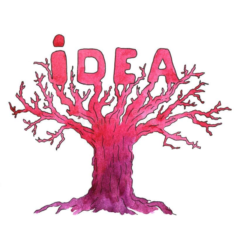 Concept créateur d'idée illustration libre de droits