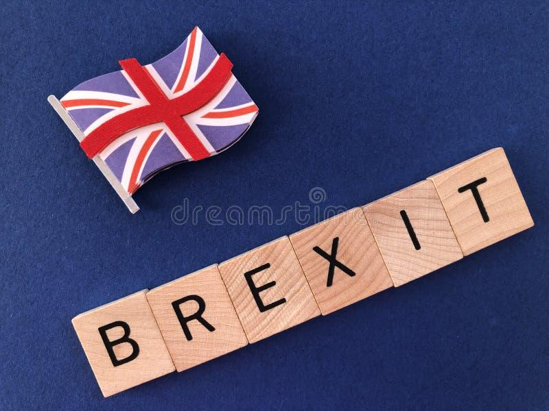 Concept créatif : Gouvernement et politique britanniques, Brexit images libres de droits
