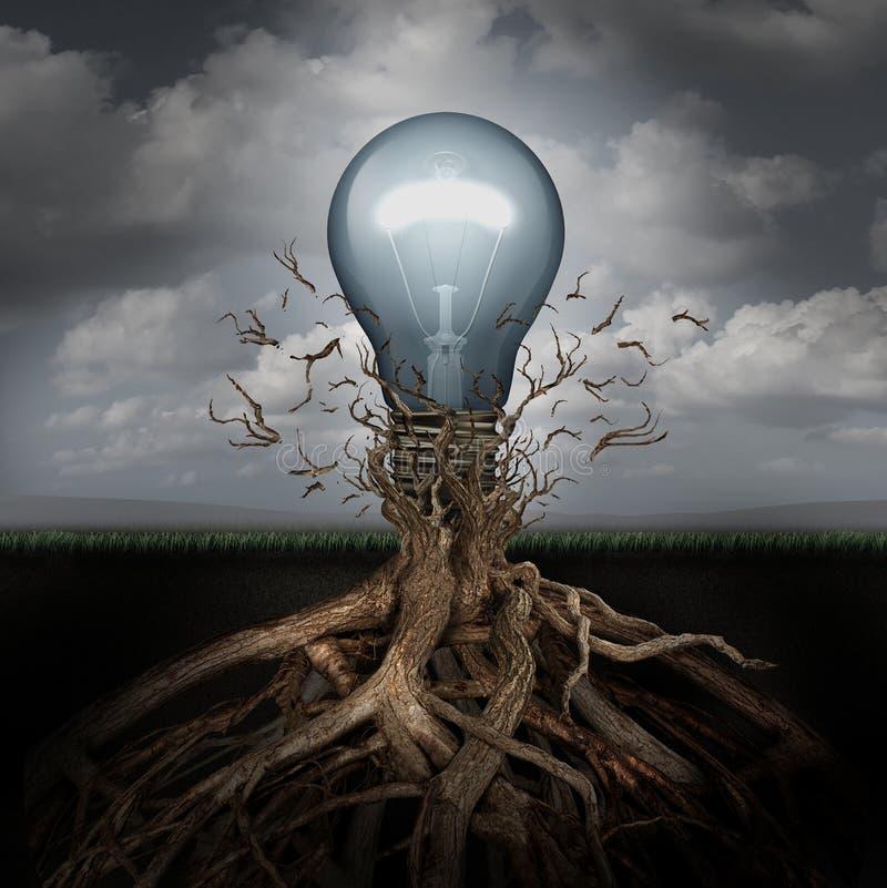Concept creativiteit royalty-vrije illustratie