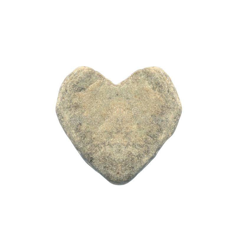 Concept of cruel, callous, indifferent person. heart-shaped stone. man with stone heart. Concept of cruel, callous, indifferent person. heart-shaped stone. man stock photography