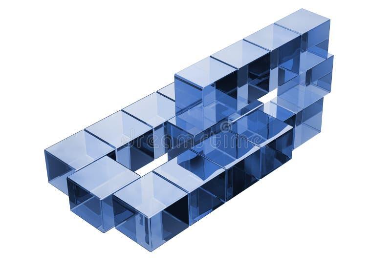 Concept cryptocurrency blockchain data vector illustration