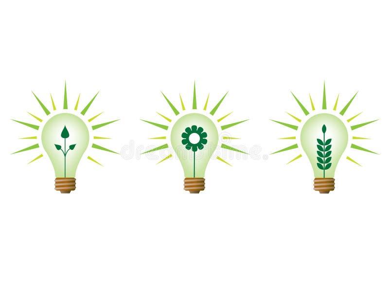Concept d'écologie illustration stock