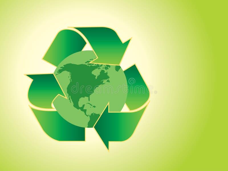Concept d'écologie illustration libre de droits