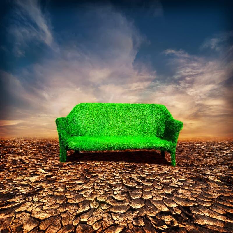 Concept d'écologie et de réchauffement global photo libre de droits