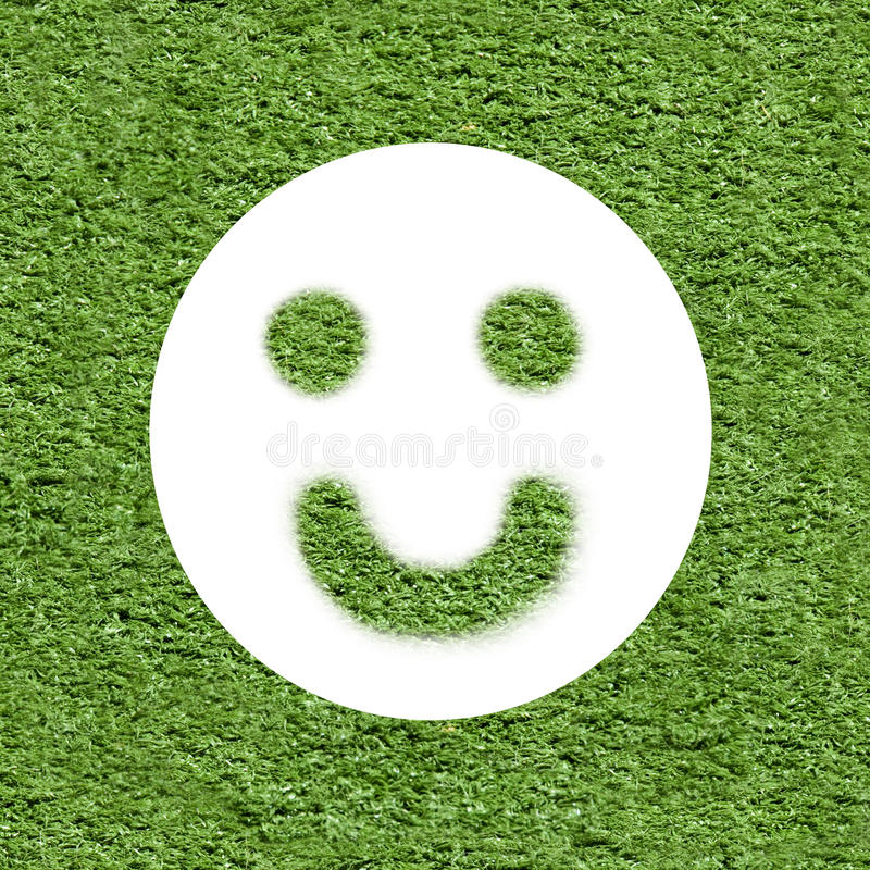 Concept d'écologie - pensez le positif image stock
