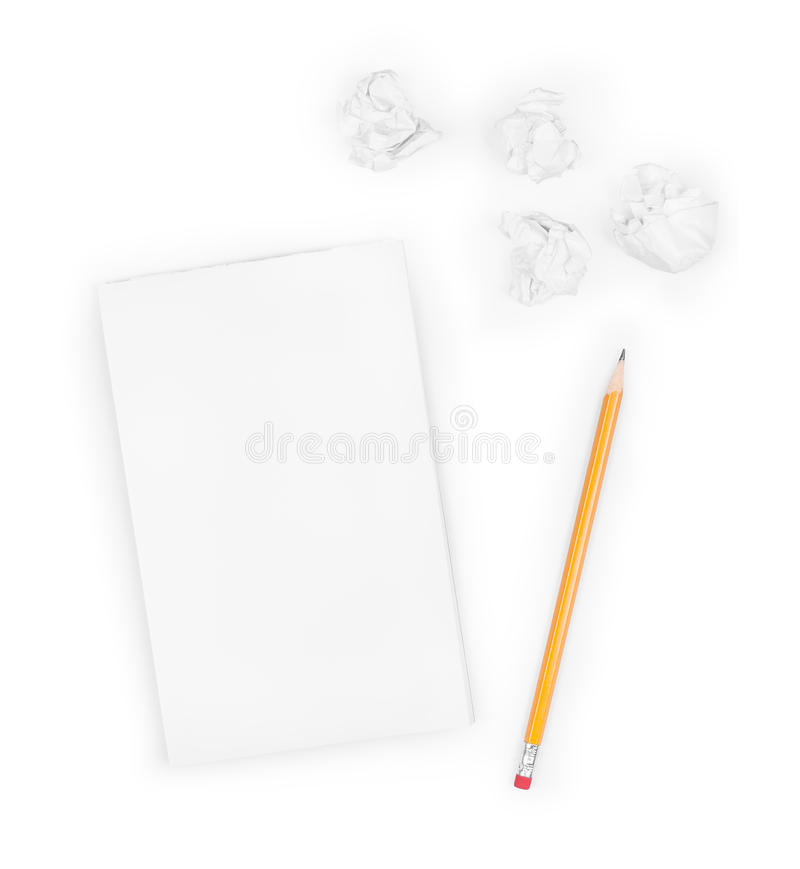 Download Concept d'écriture photo stock. Image du froissé, message - 56480010