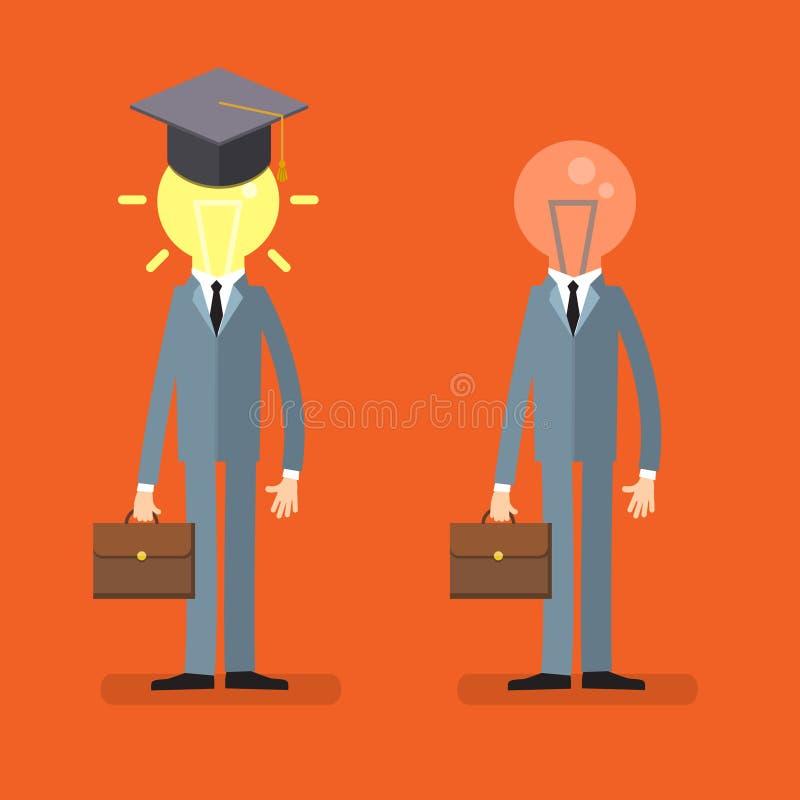 Concept d'éducation illustration libre de droits