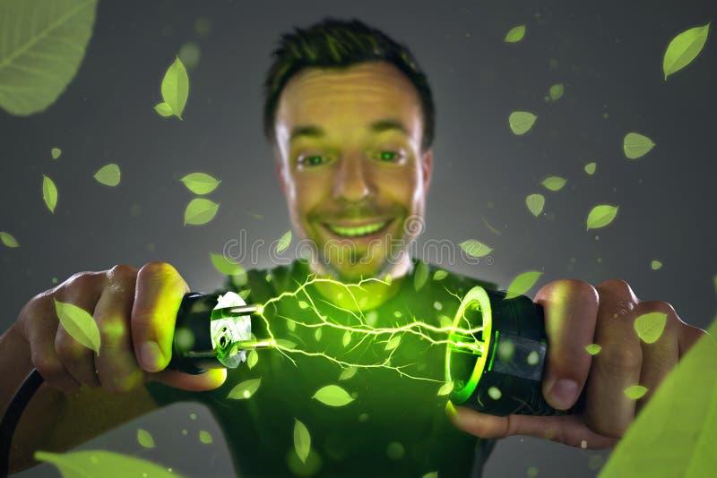 Concept d'énergie verte images stock