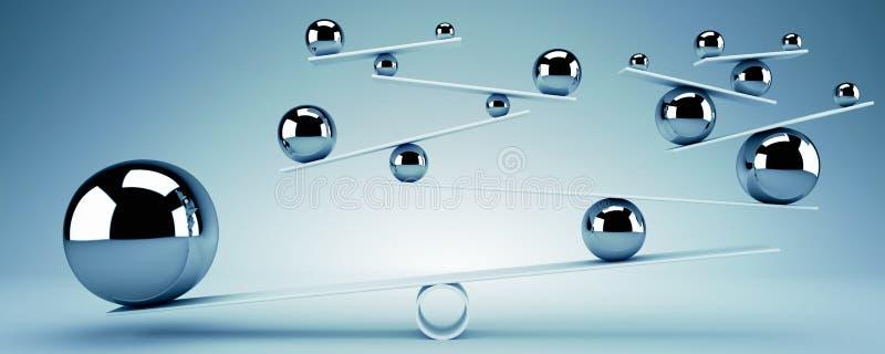 Concept d'équilibre illustration libre de droits