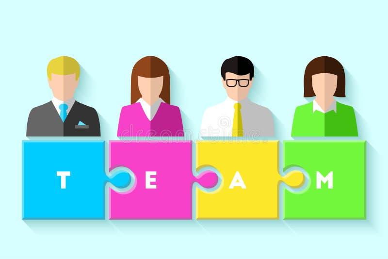 Concept d'équipe d'affaires illustration de vecteur