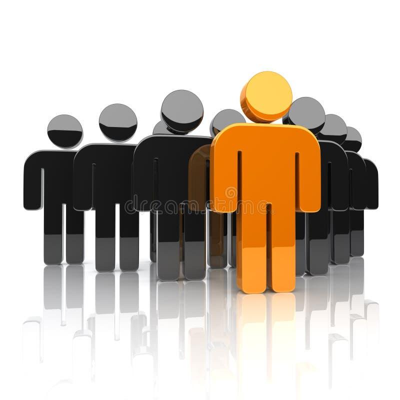 Concept d'équipe d'affaires illustration stock