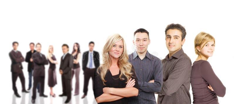 Concept d'équipe d'affaires images libres de droits