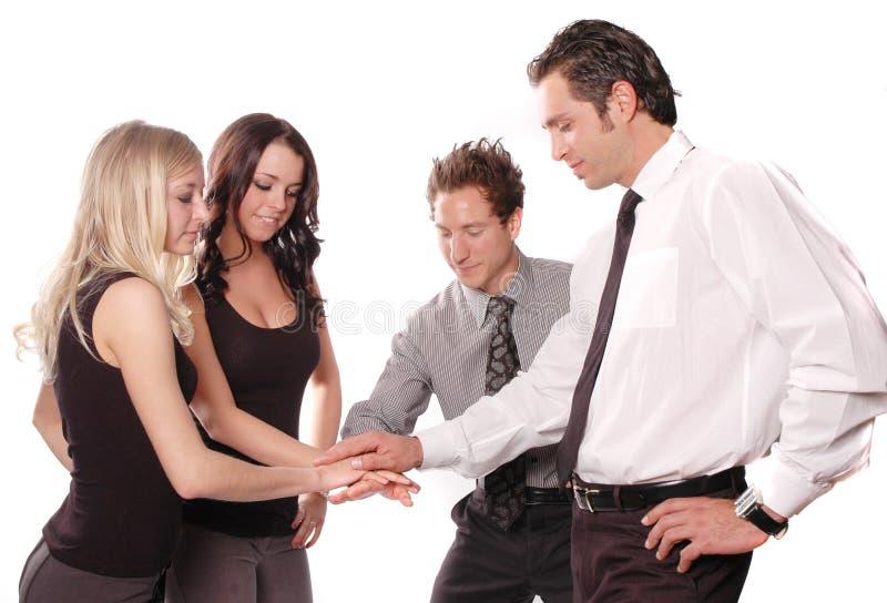 Concept d'équipe d'affaires images stock