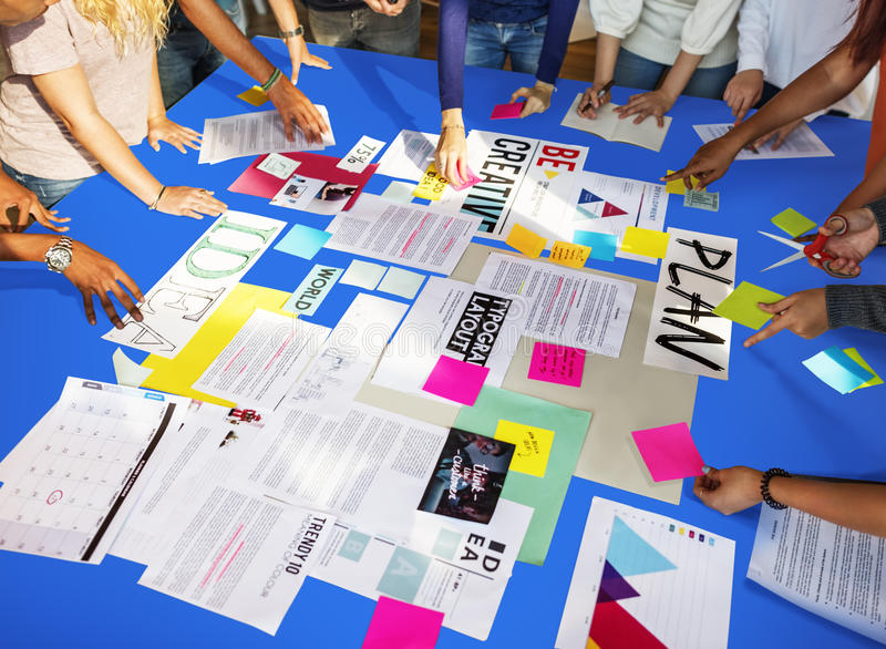 Concept d'étude de Classmate Friends Understanding d'étudiant image libre de droits