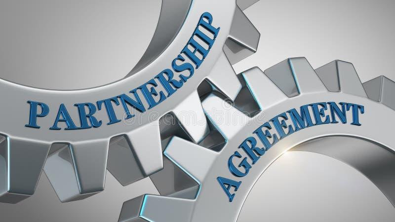Concept d'accord d'association illustration de vecteur