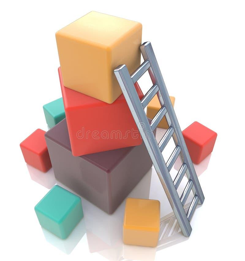Concept d'accumulation illustration de vecteur
