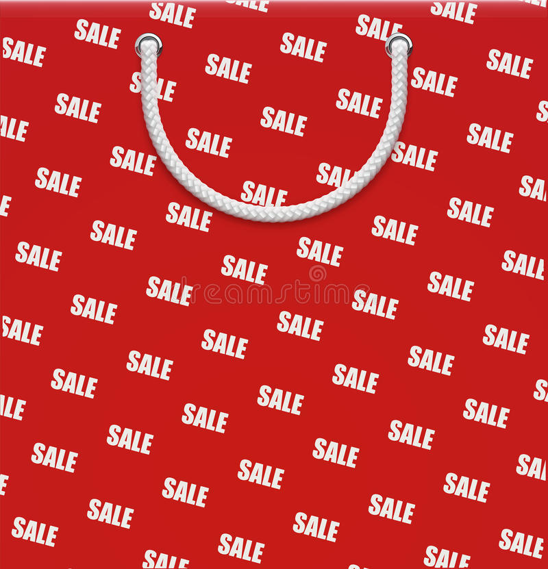 Concept d'achats illustration stock