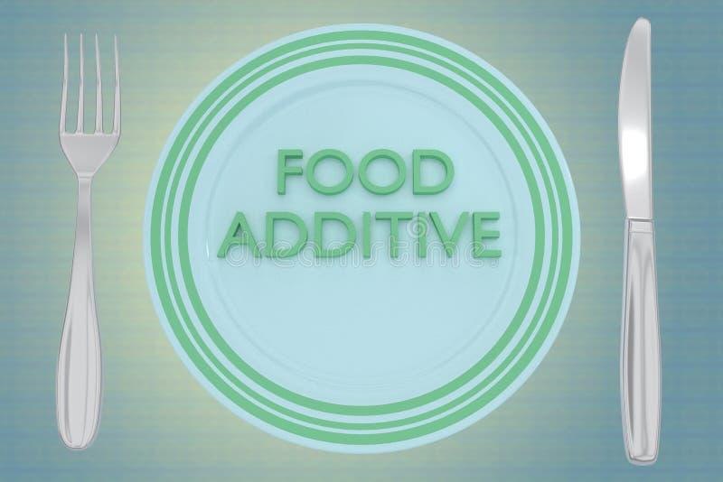 Concept d'additif illustration stock