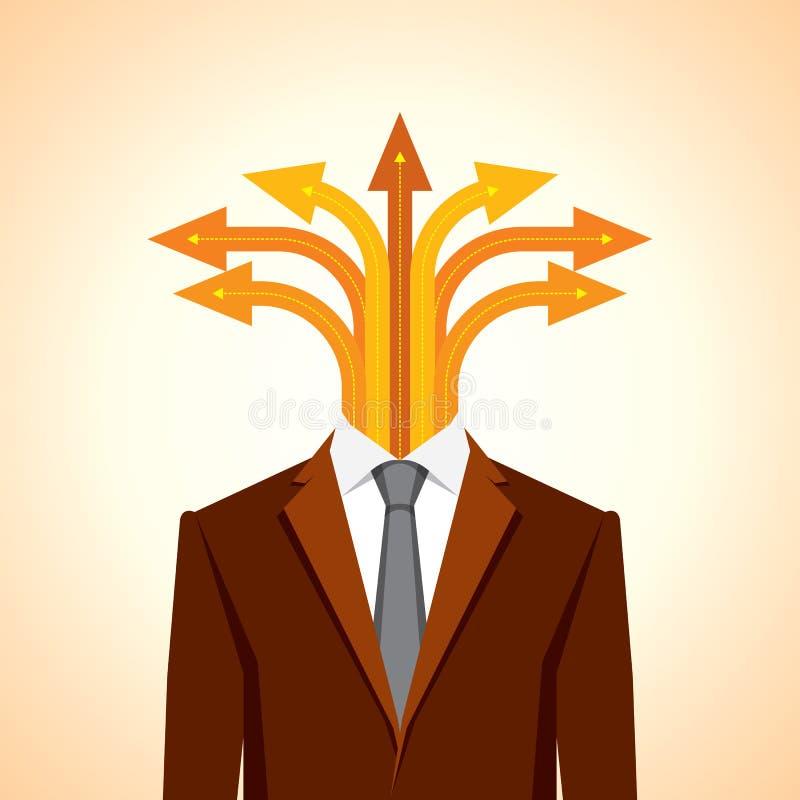 Concept d'affaires illustration stock