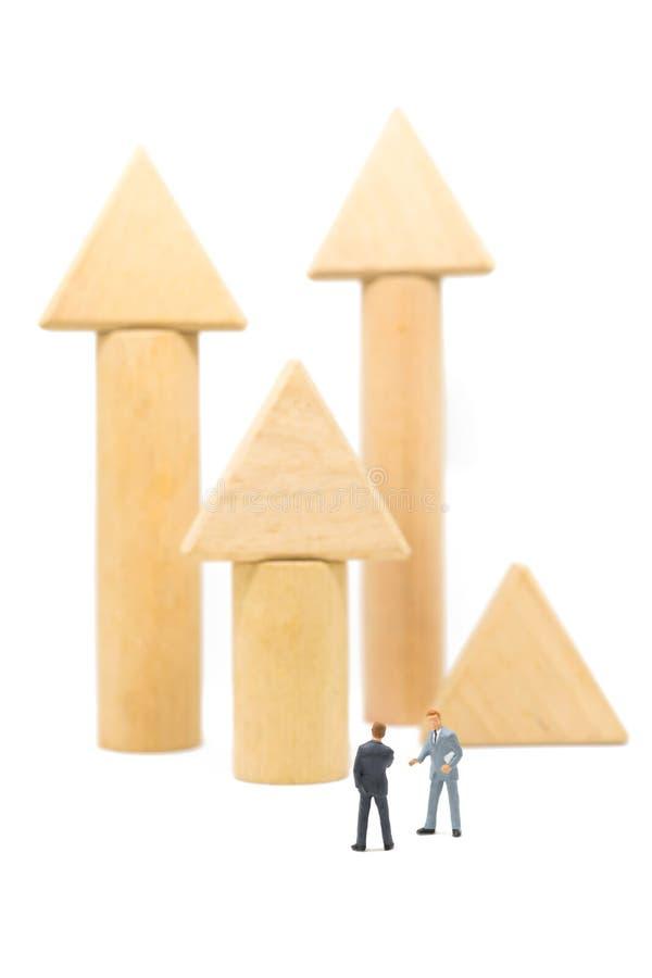 Concept d'affaires d'investissement de succès photos stock