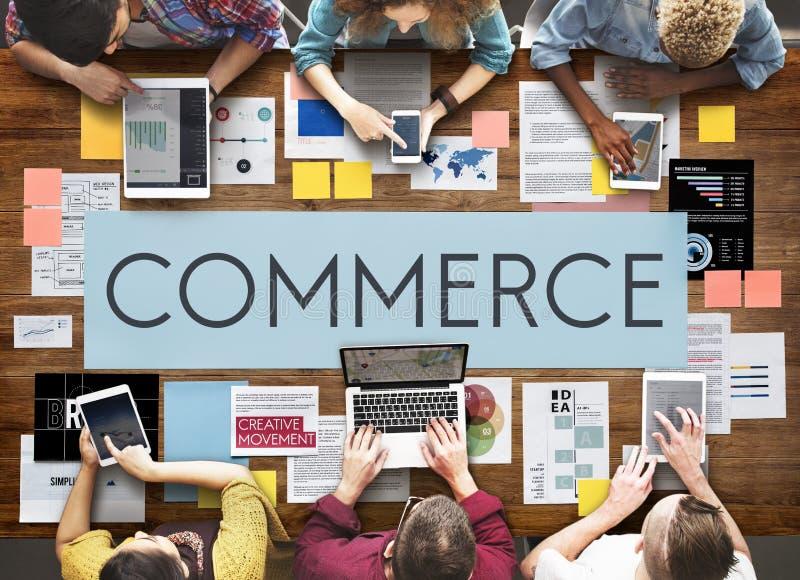 Concept d'affaires de stratégie marketing de document photo stock