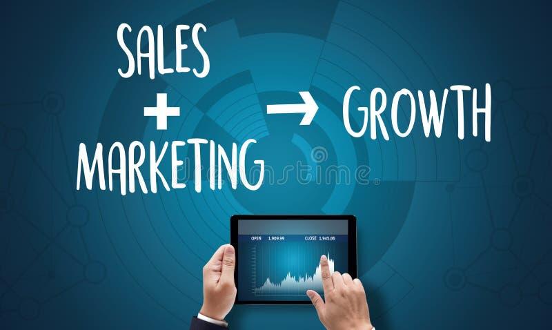Concept d'affaires, de technologie, d'Internet et de réseau de VENTES DIRECTES photo stock