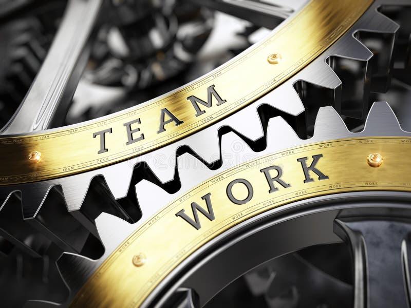 Concept d'affaires de travail d'équipe illustration de vecteur
