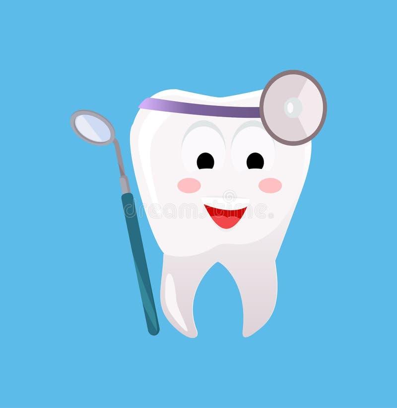Concept d'affiche de bannière d'art dentaire illustration stock